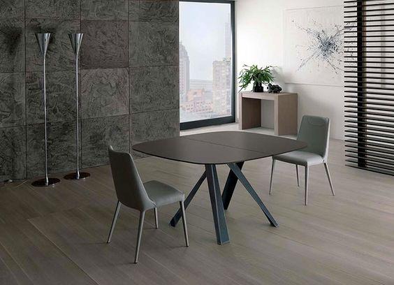tavoli quadrati allungabili: 20 modelli dal design moderno ... - Tavolo Allungabile Design Moderno