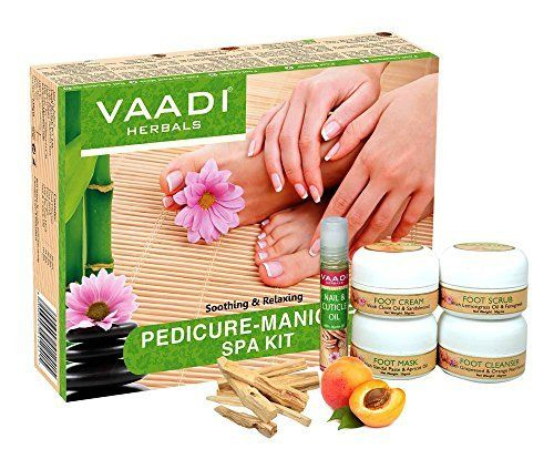 Offerta Di Oggi Vaadi Herbals Soothing And Refreshing Pedicure Manicure Spa Kit 135g A Eur 140 00 Invece Di Eur 220 00 Pedicure Manicure Spa