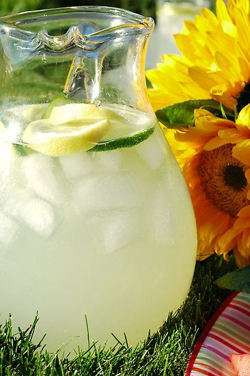 Summer = Lemonade on the porch. Photo by Karin Hildebrand Lau via redbubble.com