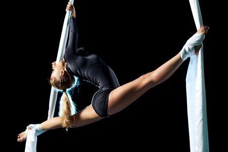Aprender más cosas en danza aérea y perfeccionar lo que ya sé.