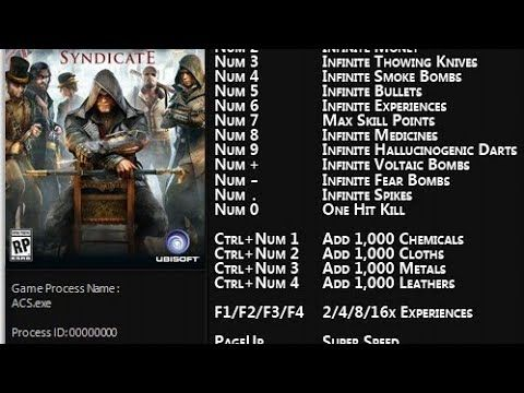 Assassin S Creed Syndicate Cheat Trainer 100 Working Important Note Disable Antivirus First Links To Download The T Assassins Creed Syndicate Creed Syndicate