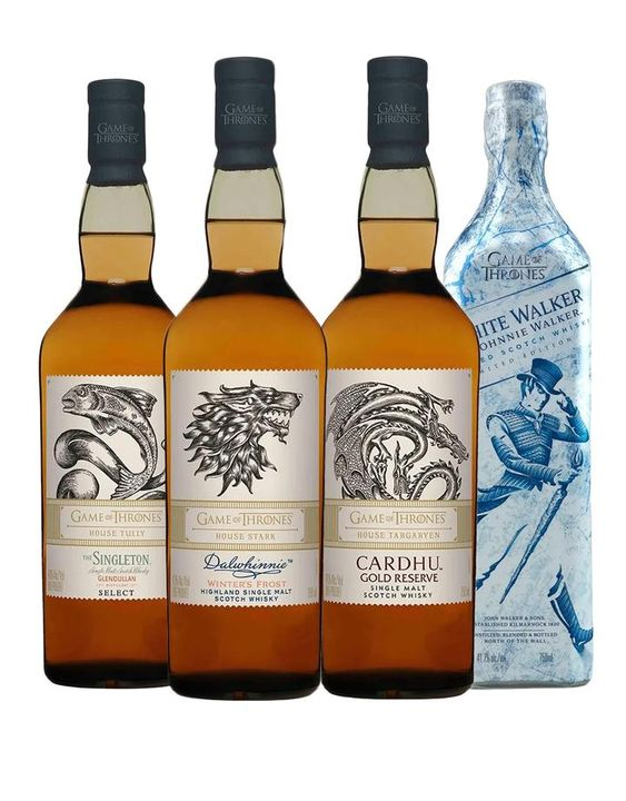 Game of Thrones Single Malt Collection with White Walker by Johnnie Wa | Buy Online or Send as a Gift | ReserveBar