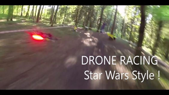 Drone racing star wars style Pod racing are back!