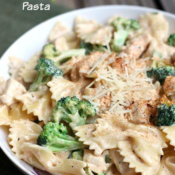 Cajun Chicken Alfredo Pasta Recipe Main Dishes with bow-tie pasta ...