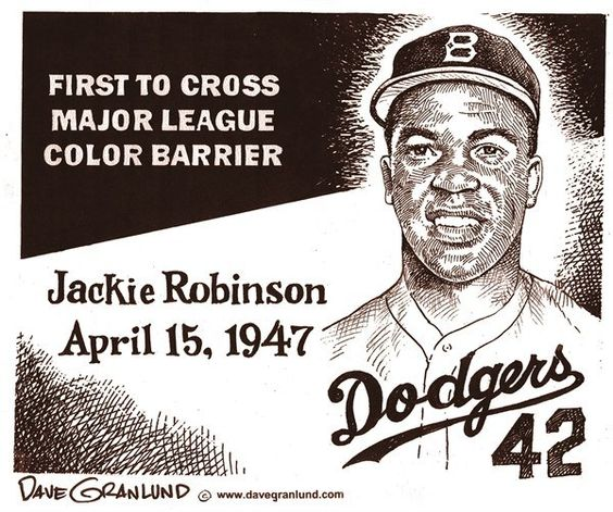 jackie robinson breaking the racial barriers Video on nbcnewscom: baseball great jackie robinson — the first man to break the racial barrier in the major leagues — appeared on mtp april 14, 1957 he spoke.