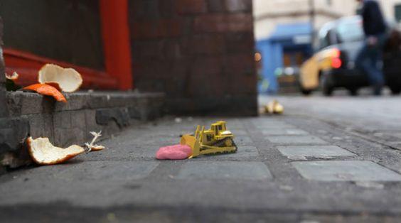 Korte animaties over een miniwereld op de straten van Londen