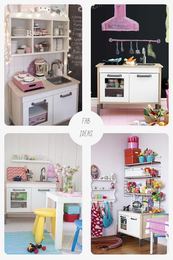 Toys kitchen hacks and kitchens on pinterest - Ikea duktig play food ...