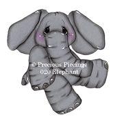 Elephant from Precious Piecings