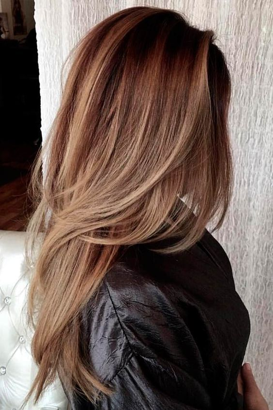 How To Get The Perfect Layered Hair According To Your Face Shape Haircuts For Medium Hair Thick Hair Styles Long Layered Hair