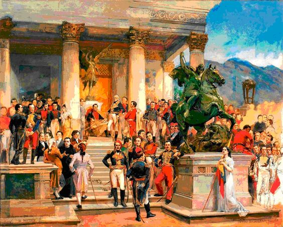 El Panteon de Los Heroes de Arturo Michelena.
