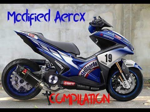 Aerox Modified Youtube In 2020 Bike Accesories Yamaha Bike