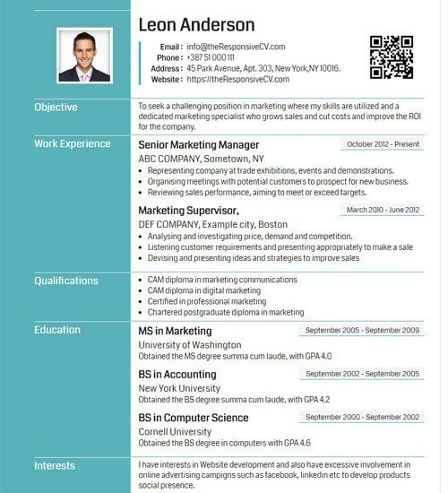Griffy Resume Template Import Cv From Linkedin In Single Click Downloadable Resume Template Resume Template Resume Design Template
