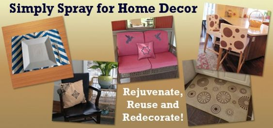 I am going to spray paint some old furniture!