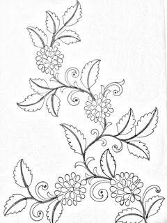 Floral Designs Pencil Sketches For Embroidery Hand Embroidery Saree Sketch D Saree Embroidery Design Floral Design Drawing Simple Flower Embroidery Designs,1920s Interior Design Australia