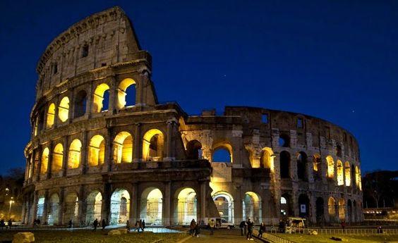Colosseum , Rome  http://georgiapapadon.com/