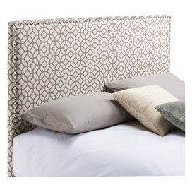 Upholstered Geometric Headboard