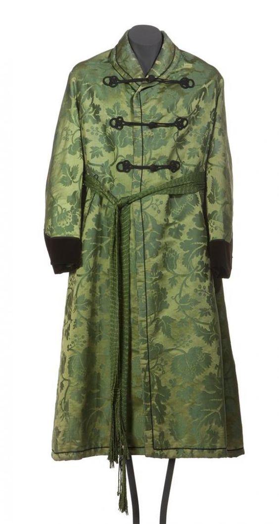 Man's dressing gown, c. 1820.  Gemeentemuseum den Haag.