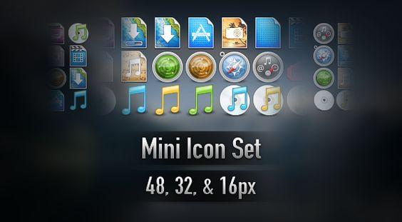 Mais de 5000 mini ícones para seu site.