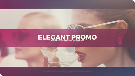 Elegant Promo (Abstract) #Envato #Videohive #aftereffects