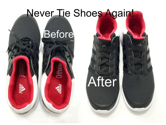 Never tie your shoelaces again! by DesiViva