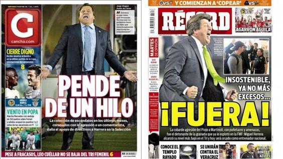 Es oficial: México despidió a Herrera por agredir a un periodista y suena Bielsa - Fútbol - http://befamouss.forumfree.it/?t=71173031
