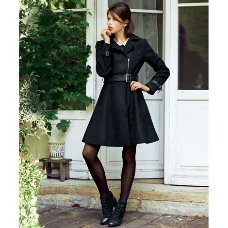 Me encanta este abrigo de La Redoute.