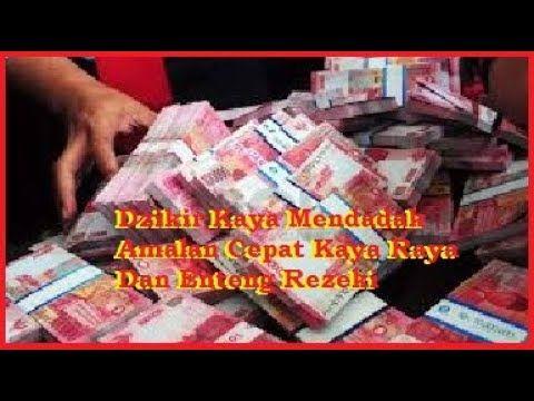 Dzikir Kaya Mendadak Amalan Cepat Kaya Raya Dan Enteng Rezeki Comic Book Cover Kaya Book Cover