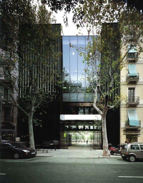 RCR Arquitectes || Biblioteca y Hogar del jubilado (Barcelona, España) || 2007