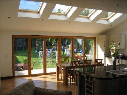Extension South Facing Uk Semi Google Search Kitchendiners Garden Room Extensions House Extensions House Living room extension ideas uk