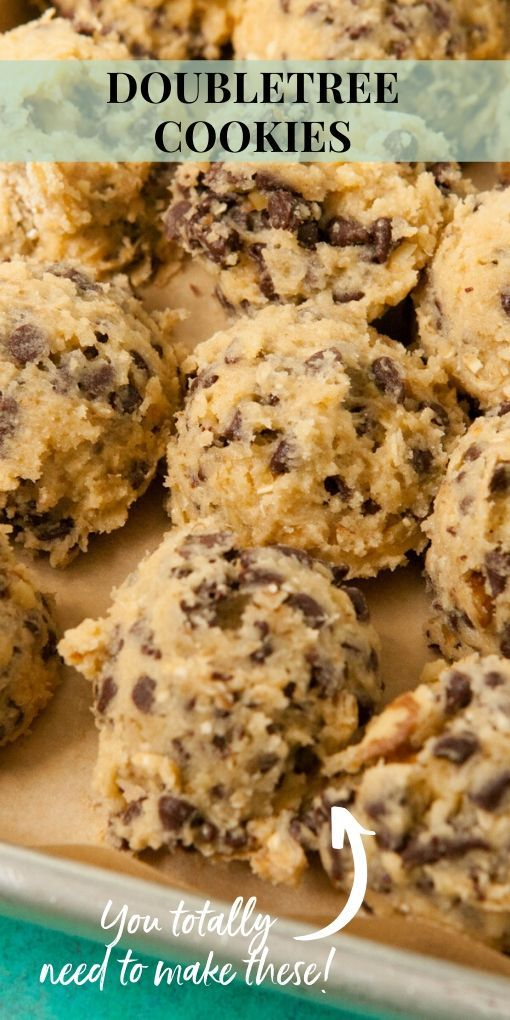 Doubletree Cookies Yummy Cookies Cookie Recipes Doubletree Cookies