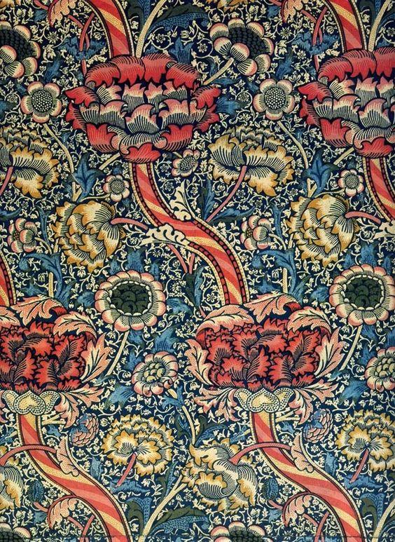 William Morris 1834-1896   English textile designer