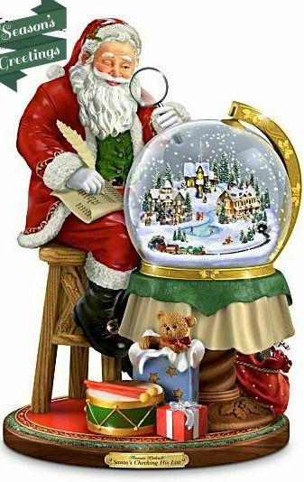 Thomas Kinkade Snow Globe.this is one i would like,,,,