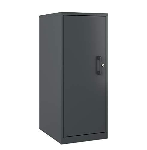Office Dimensions 3 Shelf Personal Storage Cabinet Locking Charcoal Locking Storage Cabinet Personal Storage Office Storage Furniture