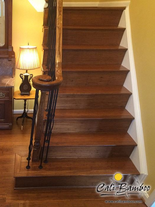 Antique Java Fossilized® Flooring Look Amazing On Stairs! | Bamboo Flooring  ❀ | Pinterest | Flooring, Java And Antiques