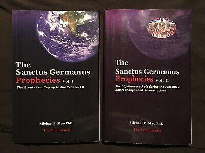 The Sanctus Germanus Prophecies Vol 1 2 Author Signed Bibliophile Ebay Prophecy Author Bibliophile