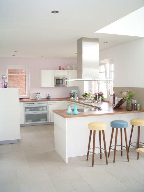 Die besten 25+ Küche mit theke Ideen auf Pinterest Küchentheke - kche mit kochinsel landhaus