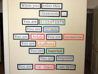 LOVE this for the entry way of the school