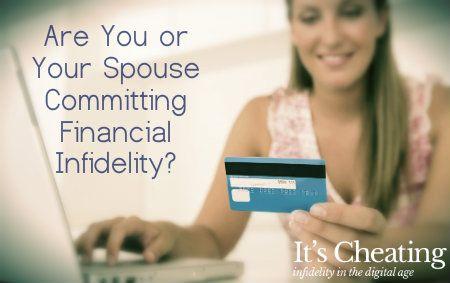 money problems financial spouse cheats