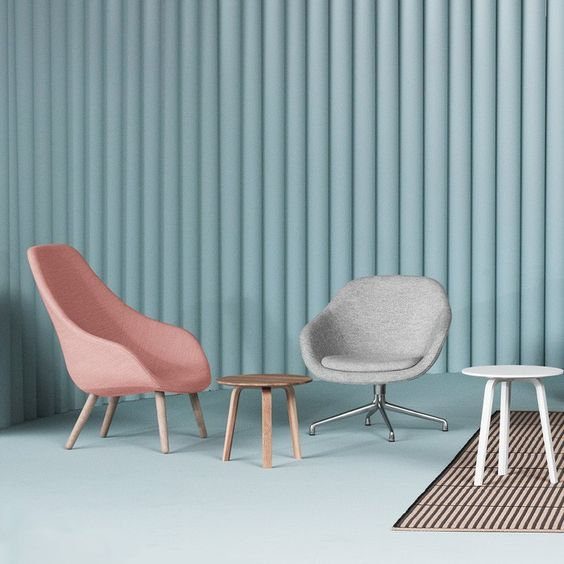 Hay Design About A Lounge Chair AAL92 Pantone Color of the Year 2016 Rose Quartz SS16