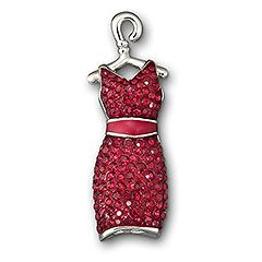 swarovski red dress tack pin Go Red for Women Heart health ...