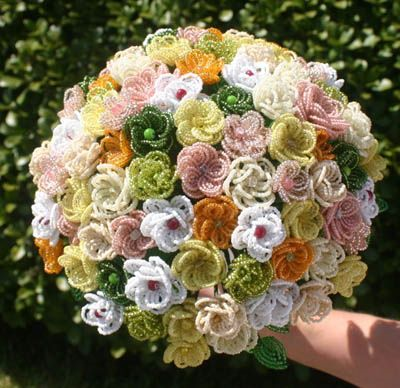 Image from http://www.mywvwedding.com/Planners-Palette/Annual-2011/Alternative%20Bridal%20Bouquets/beaded-flower-wedding-bouquet(1).jpg.