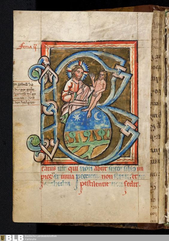 Titel Psalterium - Lichtenthal 25 Erschienen Oberrhein, [2. Hälfte des 13. Jh.]