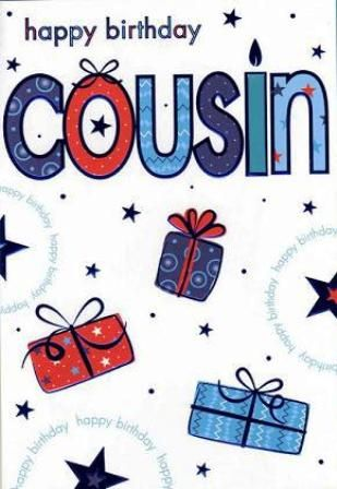 Image result for birthday wishes for cousin male