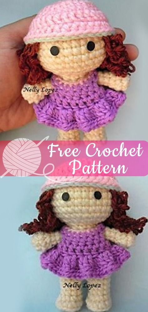 Crochet Hello Kitty Dress & Amigurumi - Free Pattern - DIY 4 EVER | 997x474