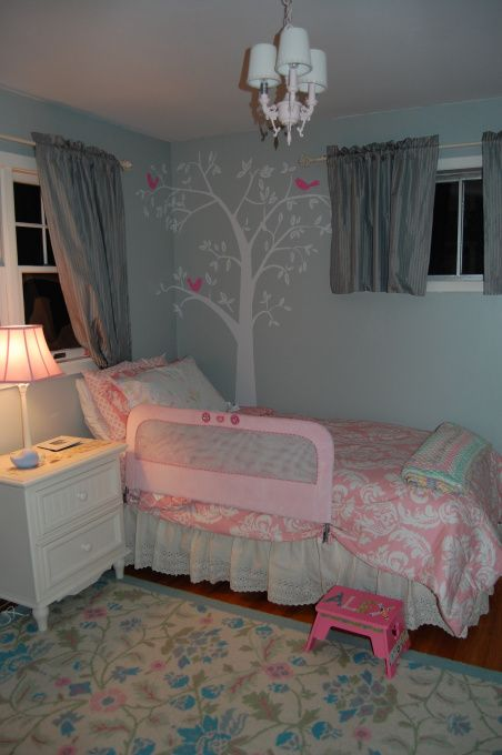 2 Year Old Pink Big Girl Room
