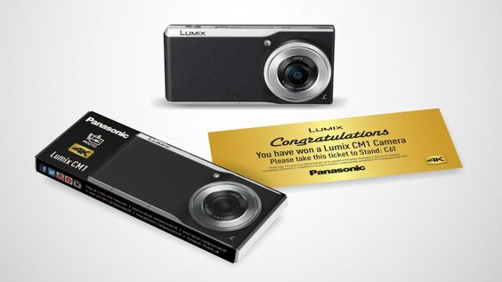 Eat chocolate and win a camera at The Photography Show! | Panasonic is giving away one CM1 camera for every day of The Photography Show, from March 21-24 at the Birmingham NEC. Buying advice from the leading technology site