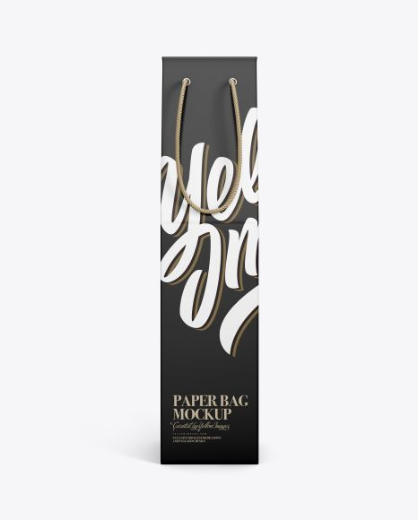 Download Wine Bag Mockup Present Your Design On This Mockup Simple To Change The Color Of Different Parts And Add Your Design I Bag Mockup Mockup Free Psd Mockup Psd