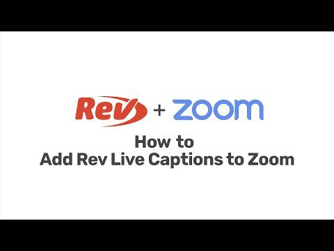 Zoom Closed Captioning How To Caption Subtitle Zoom Meetings And Recordings Rev Online Teaching Social Media Resources Close Caption