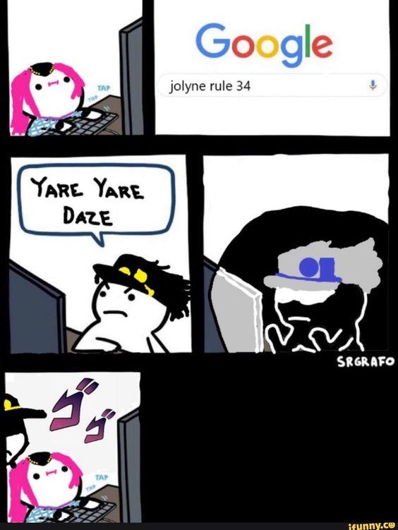 Jotaro Rule 34