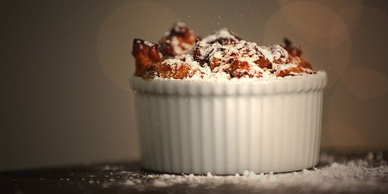 Keep the Thanksgivukkah celebration going the next morning with this challah bread pudding: